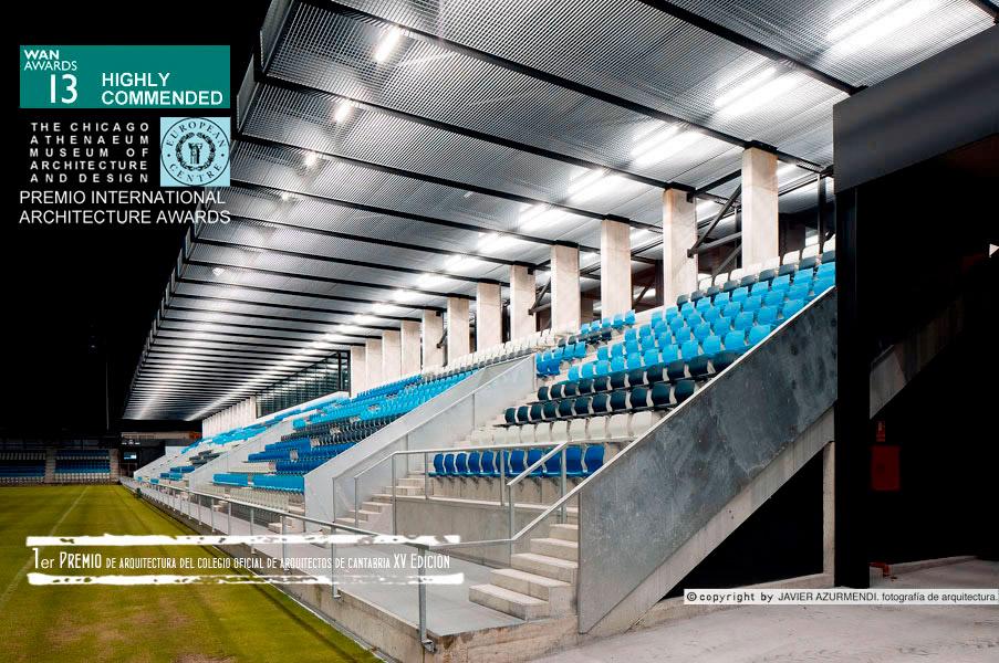 Inauguración campo de fútbol del Malecón
