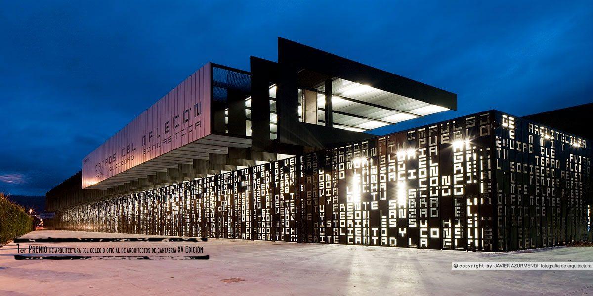 El nuevo campo del Malecón gana el XV Premio de Arquitectura de Coacan