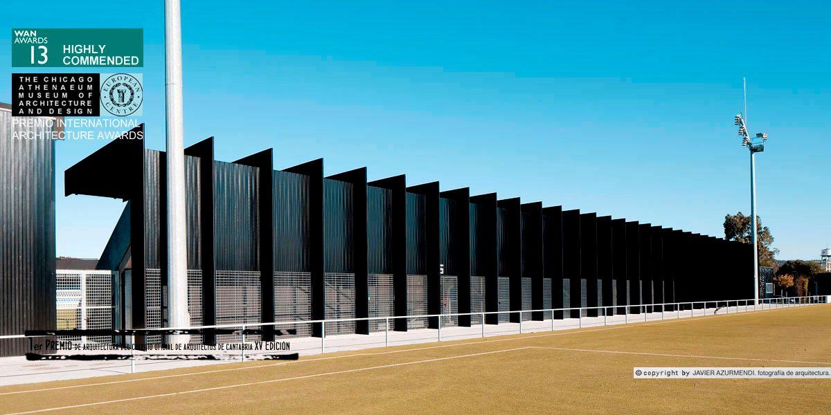 Los Nuevos Campos de El Malecón se alzan con el XV Premio de Arquitectura