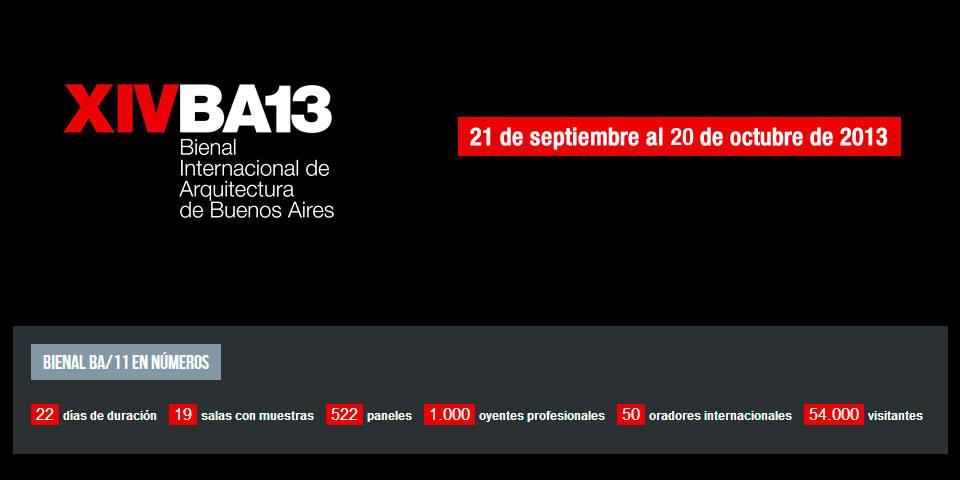 La obra de MMIT arquitectos será expuesta en la Bienal Internacional de Arquitectura de Buenos Aires