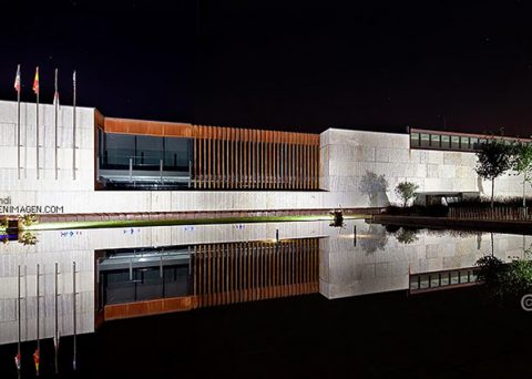 Architecture in image publishes the photo archive of the Townhall of Meruelo