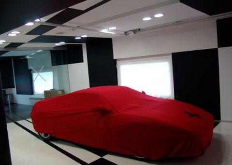 Ferrari garage _ Suances