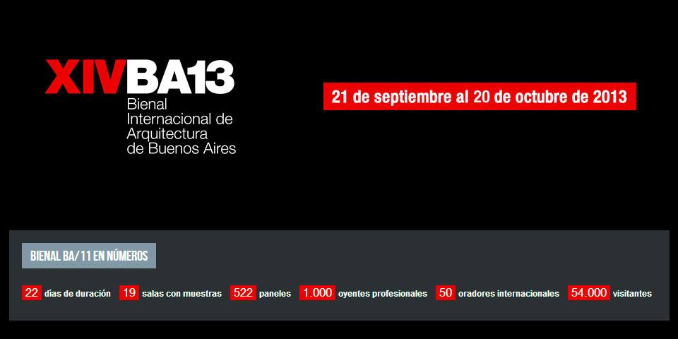 Architects MMIT's work will be exhibited at the International Biennial of Architecture of Buenos Aires