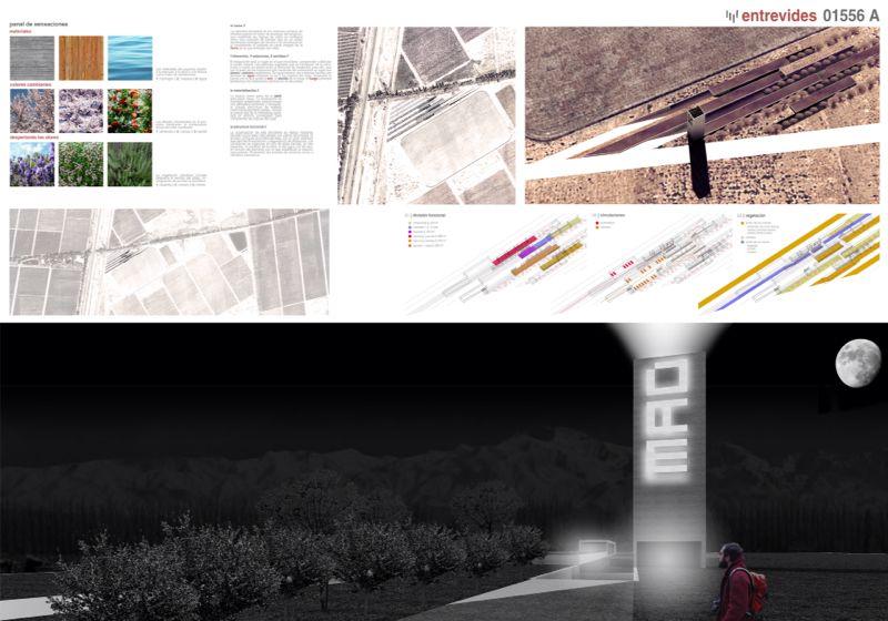 """Restaurante """"Entrevides"""" de MMIT ganador del Primer Concurso Internacional de Arquitectura MAD"""