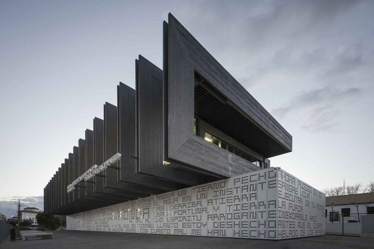 Ronda Library is one of the six best projects in the world selected for the 'WAN Civic Building Award 2016'