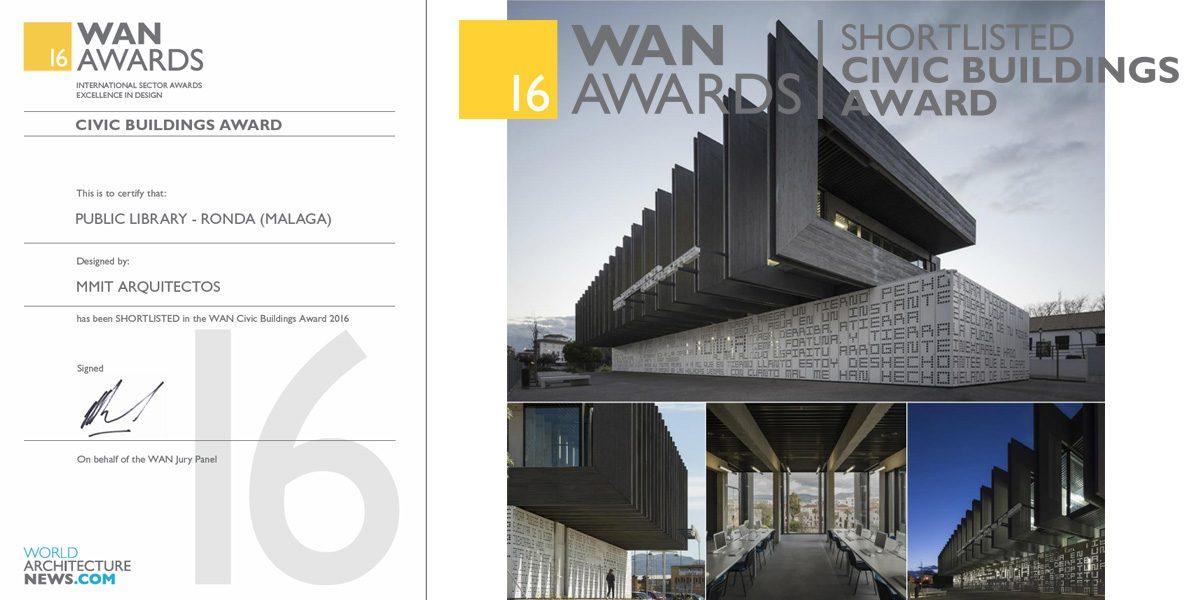 Finalistas premios WAN Edificio civil 2016
